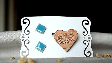 Sady šperkov - keramická sada č.393_ Čičmany - 13364689_