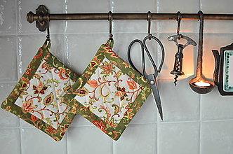 Úžitkový textil - Kuchynské chňapky - 13367395_