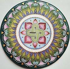 Dekorácie - Mandala zdravia a hojnosti - 13367376_