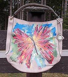 Kabelky - Maľovaná kabelka 53 - 13366504_