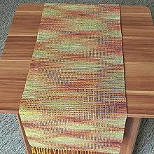 Úžitkový textil - RUČNĚ TKANÝ OBRUS - ŠTOLA - PRESTIERANIE 5 - 13366041_