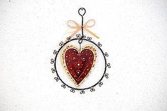 Dekorácie - Májové srdce *15 - 13364076_