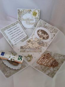 Papiernictvo - Krabička na svadobný dar - 13367266_