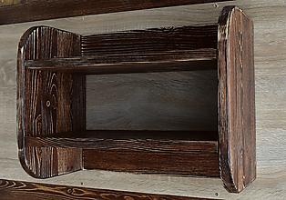 Nábytok - Polička s vešiakmi - 13366750_