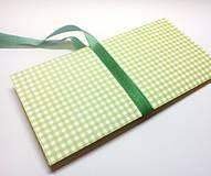 Papiernictvo - Obálka na darček II - 13368792_