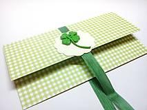 Papiernictvo - Obálka na darček II - 13368793_