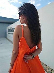 Šaty - Orange sale zo 109 na 85! - 13368357_