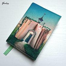 Papiernictvo - Univerzální obal na knihu - Kniha kouzel - 13368022_
