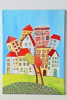 Obrazy - Obraz : Mesto, 30 x 40 cm - 13368077_