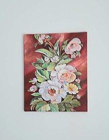 Obrazy - Kytica, acryl, 40 x 50 cm - 13368290_