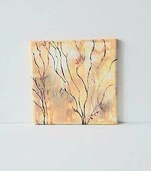 Obrazy - Abstract 8, 20 x 20 cm, akryl - 13368343_