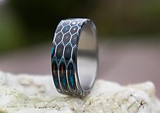 Prstene - Prsteň HONEYCOMB - 13367760_