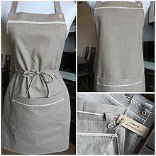 Iné oblečenie - Darčeková ľanová sada - 13367793_