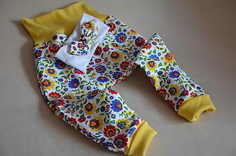Detské oblečenie - Tepláky detské - 13368680_
