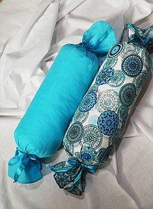 Úžitkový textil - Vankúš valec - 13367482_