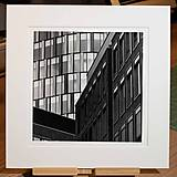 "Fotografie - Fine Air Print ""Rohy"" - Silver Gelatin Print - 13369224_"