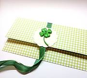 Papiernictvo - Obálka na darček II - 13371937_