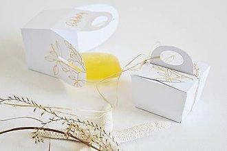 Krabičky - Mini krabička - pre svadobčanov - 13371455_
