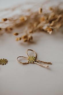 Pierka - Vintage svadobné pierka kvietok - 13372204_