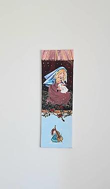 Obrazy - Panna Mária s Ježiškom 20 x 60  cm - 13371097_