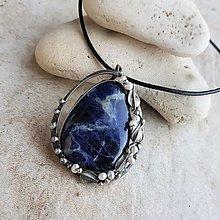 Náhrdelníky - IRIS náhrdelník - 13371896_