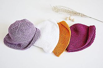 Detské čiapky - Klobúčik pre bábätko - 13371353_