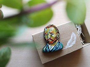 Odznaky/Brošne - Vincent van Gogh - brošna - 13370370_