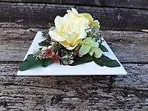 Dekorácie - Dušičková ikebana - 13371577_