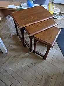 Nábytok - Tri stolčeky podľa Vašej predstavy - 13371615_