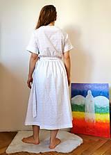 Šaty - Zavinovacie šaty z madeiry - 13372655_