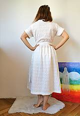 Šaty - Zavinovacie šaty béžové - 13372693_
