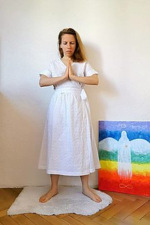 Šaty - Zavinovacie šaty z madeiry - 13372653_