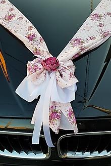 Pierka - výzdoba auta s ružami - NOVINKA - 13372811_