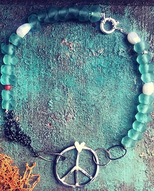 Strieborný náhrdelník - Hippie Soul