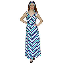 Šaty - Peggy - dlhé retro šaty, bavlna OekoTex - 13375548_
