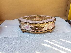 Krabičky - Šperkovnica Dievčatko - 13373794_