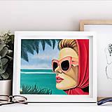 Grafika - Summer holiday grafika - 13375004_