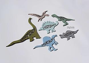 Detské doplnky - Poznávanie dinosaurov-SKLADOM - 13377196_