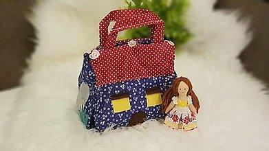 Hračky - Domček - kabelka pre bábiku - 13379175_