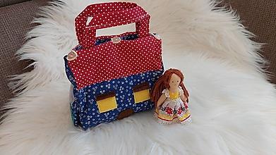 Hračky - Domček - kabelka pre bábiku - 13379188_