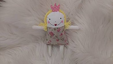 Hračky - Mojkáčik - princezná - 13379221_