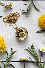 Náhrdelník Sedmokráska kruh perleť 3035 A CHO