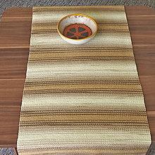 Úžitkový textil - RUČNĚ TKANÝ OBRUS - ŠTOLA - PRESTIERANIE 6 - 13377276_