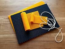 Iný materiál - Výroba sviečok z medzistienok - Kreatívna sada - 13376279_
