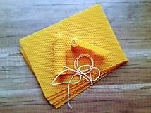 Iný materiál - Výroba sviečok z medzistienok - Kreatívna sada - 13376281_