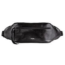 Kabelky - UNI kožená ľadvinka / belt bag - 13378301_