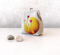 Peňaženky - Peňaženka M Žltý kruh - 13376261_