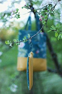 """Veľké tašky - Taška na rameno """"Botanika"""" - 13378879_"""