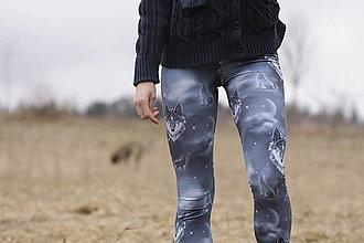 Nohavice - Legínky vlci na přání - 13379140_