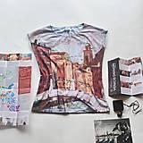 Tričká - Tričko s autorským potiskem Venezia - 13379106_